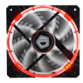 ID Cooling Concentric Circular CF-12025 Red Led - PWM High Performance Fan