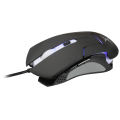 FoxXray Frimaire Black - Optical Gaming Mouse