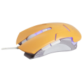 FoxXray Frimaire Orange - Optical Gaming Mouse