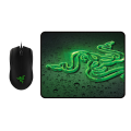Razer Abyssus 2000 and Goliathus Control Fissure Mouse Mat Bundle
