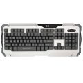 infinity Phoenix White/Grey - 3 color Led Imitation Mechanical Gaming keyboard